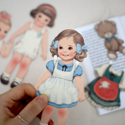 [sold out] paper doll mate card_Alice