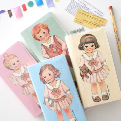 [sold out] paper doll mate pocket book