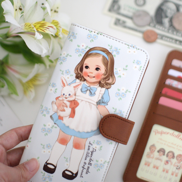 paper doll mate flat wallet