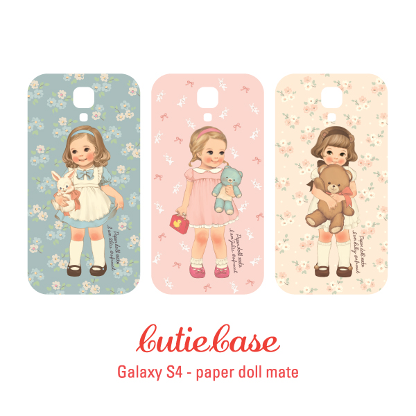 [sold out]] CutieCasepaper doll mate_gal S4