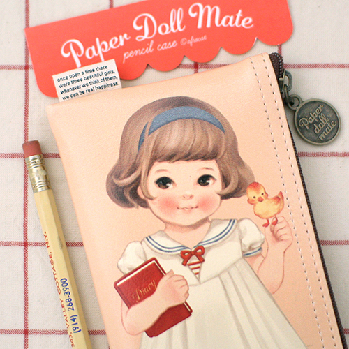 paper doll mate pencil case4_Sally