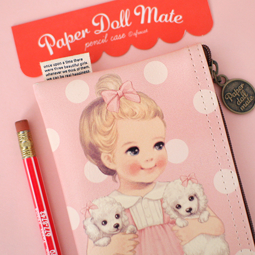 paper doll mate pencil case5_Julie