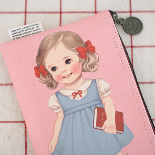 *20%쿠폰발행* paper doll mate pouch4_Alice