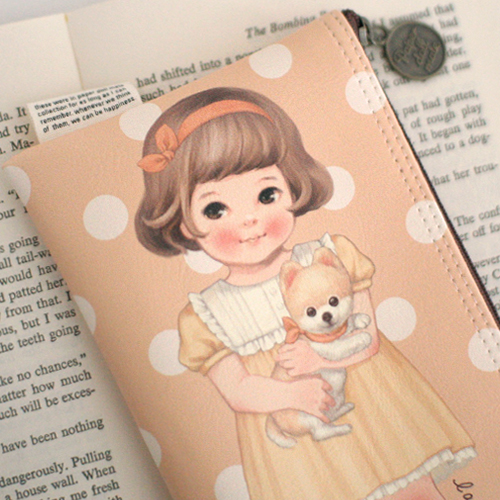 *20%쿠폰발행* paper doll mate pouch5_Sally