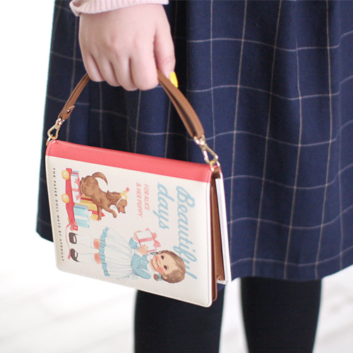paper doll mateBook Clutch. S_Alice