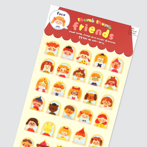 afrocat sticker 003 thumb thumb friends sticker ver.face