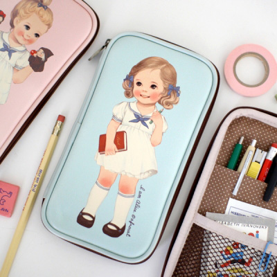 [sold out] paper doll matemulti pen pouch ver.1