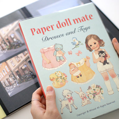 [Sold out] paper doll matephoto album
