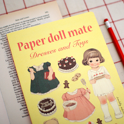 [Sold out] paper doll mate notebook_Sally ver