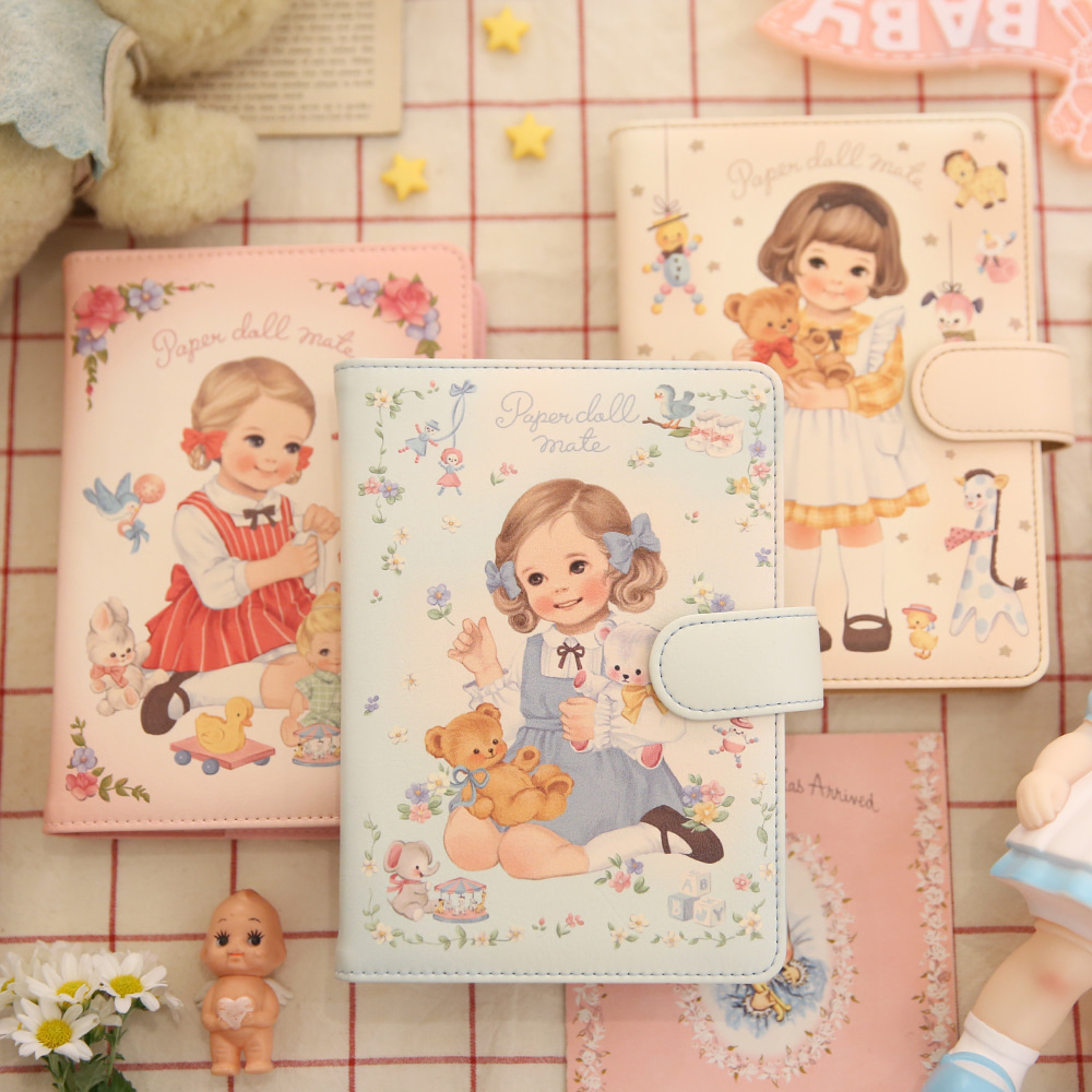 [sold out]Paper doll mate2018 daily diary
