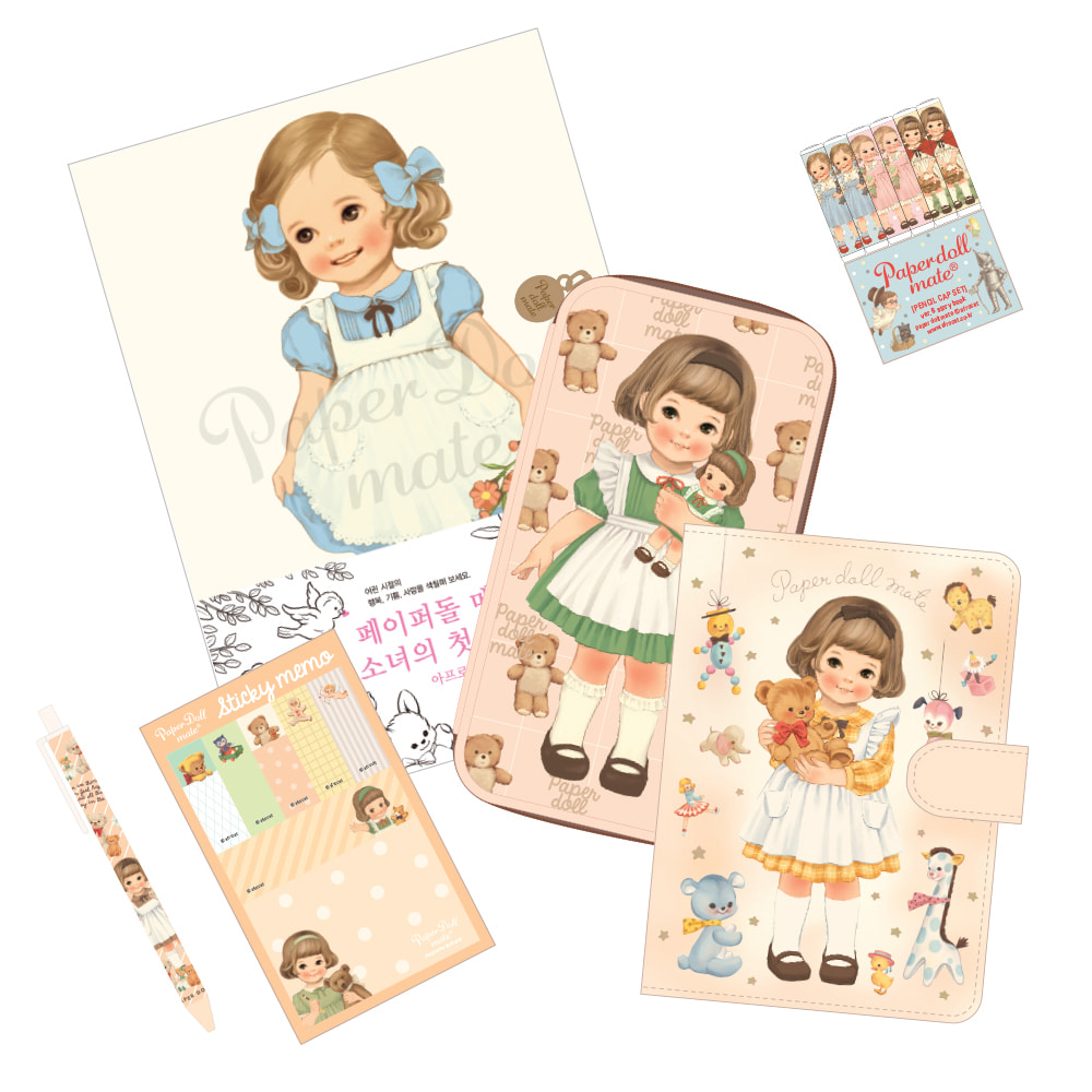 paper doll mate _ Sally Set*EVENT2월까지*