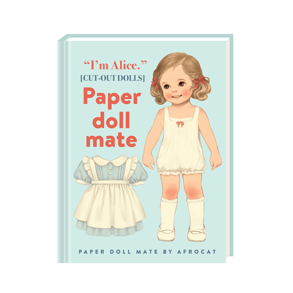 PAPER DOLL MATE HARD COVER MINI NOTE ver.4