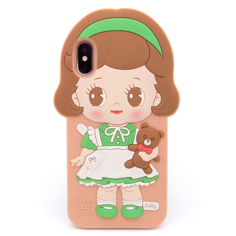 Paper doll mate silicon case  _Sally / iPhone X