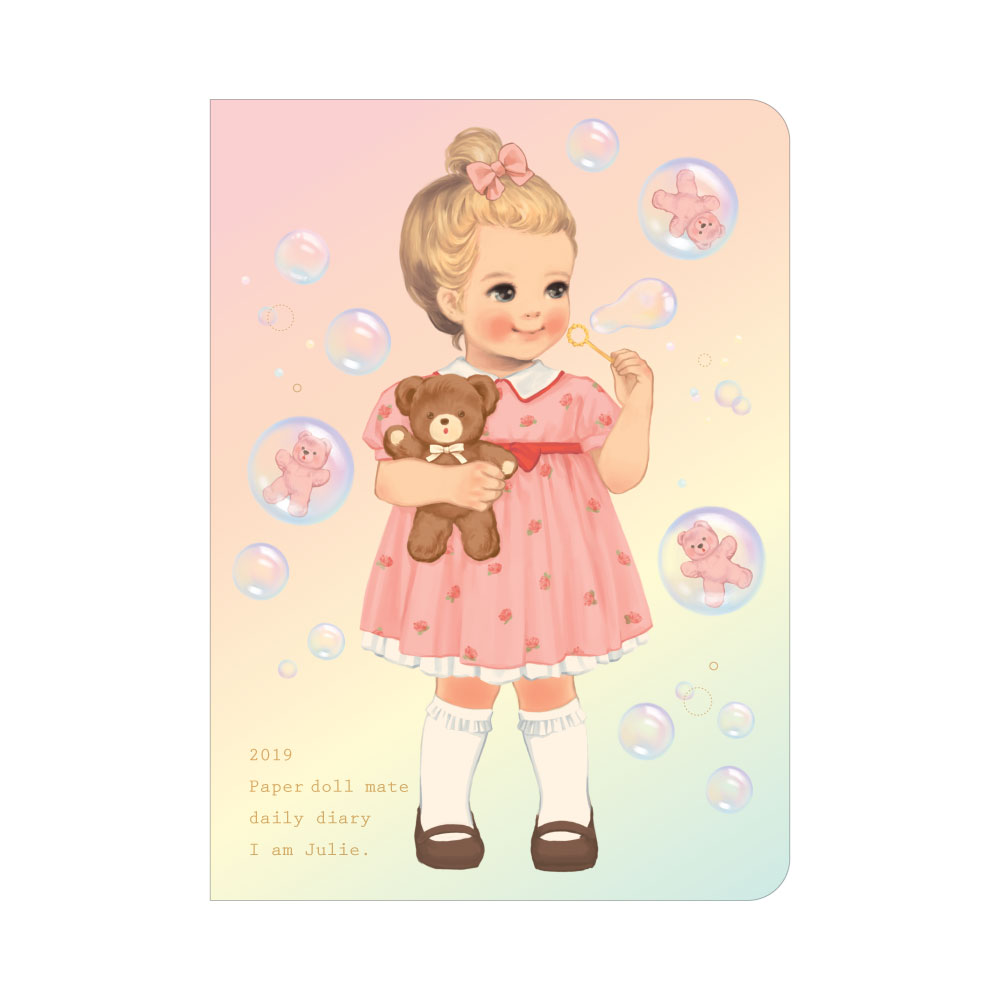 *10월말 입고예정*Paper doll mate daily diary 2019_Julie