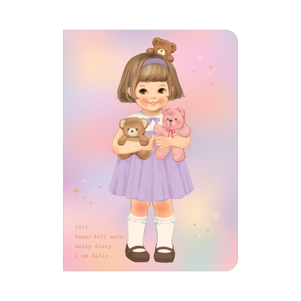 *10월말 입고예정*Paper doll mate daily diary 2019_Sally