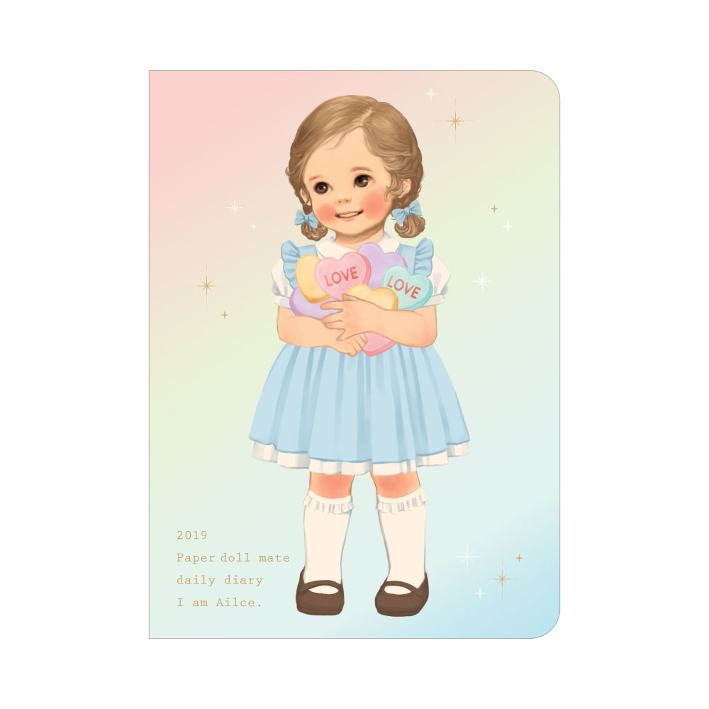 *10월말 입고예정*Paper doll mate daily diary 2019_Alice