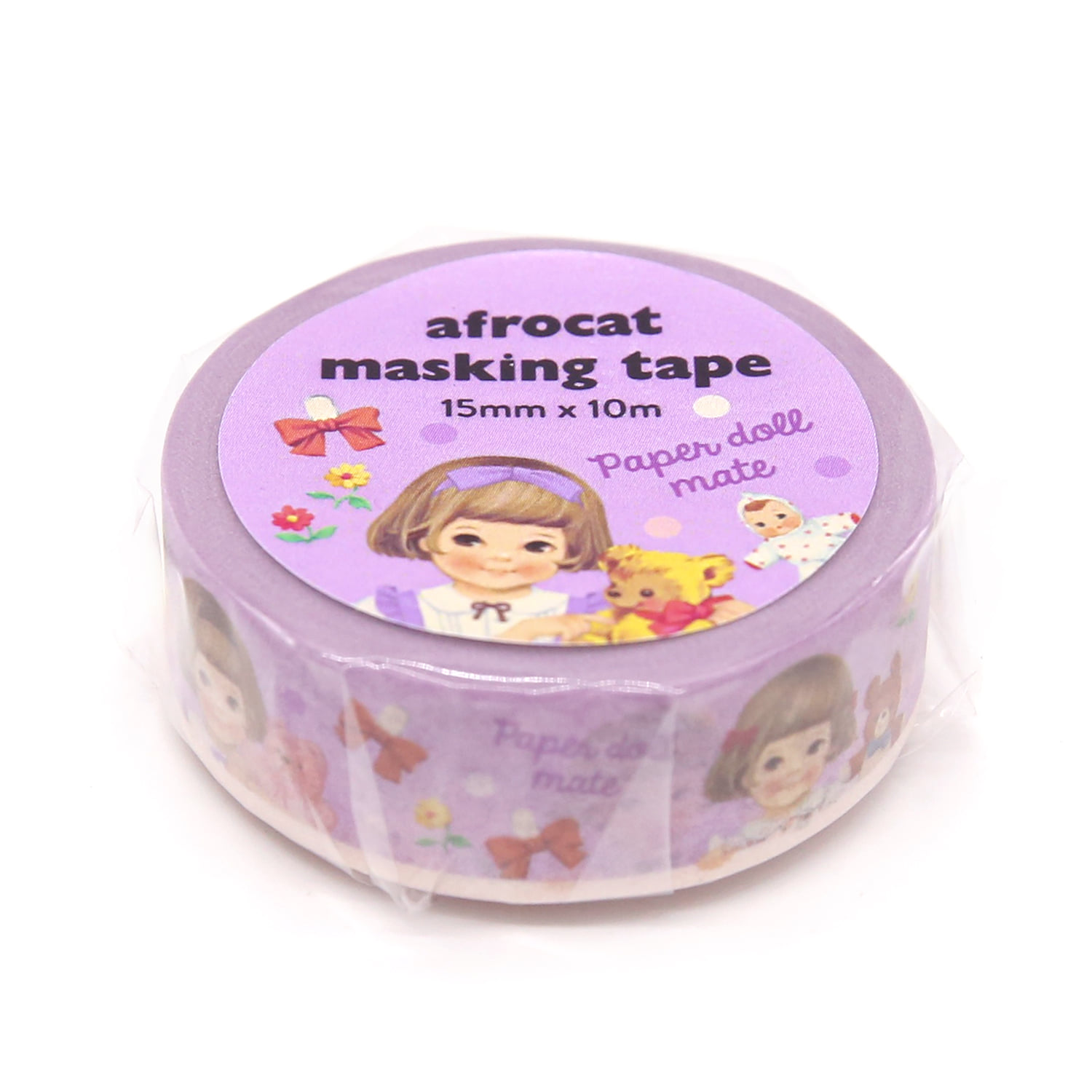 [afrocat masking tape] 3. Paper doll mate_ sally 15mm