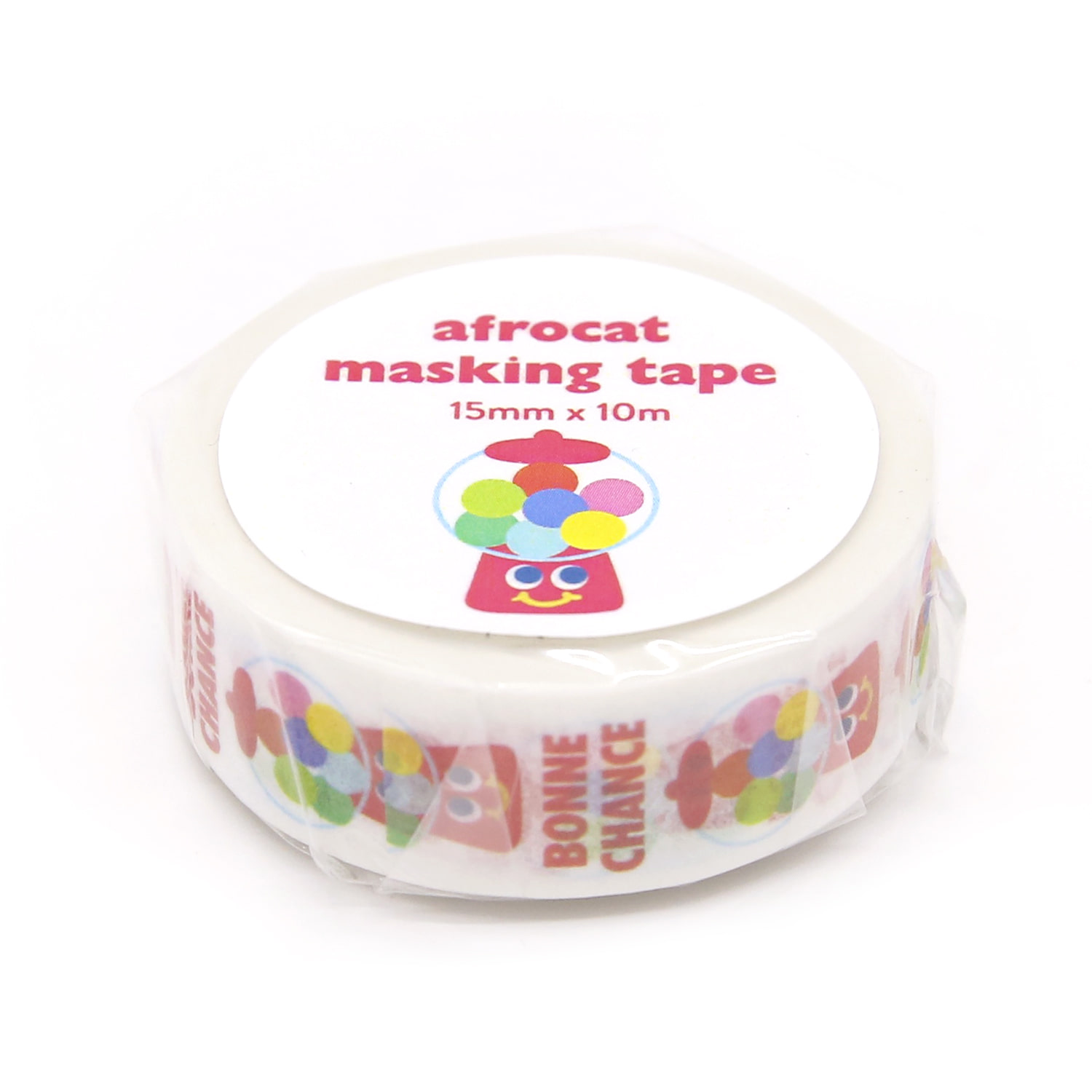 [afrocat masking tape] 12. Yammy friends _ candy machine 15mm