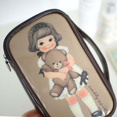 [sold out] paper doll matemake up pouch M_Sally