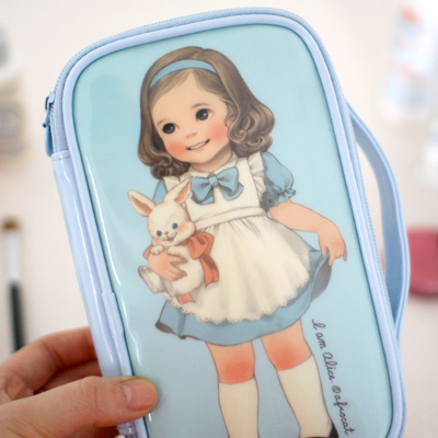 paper doll matemake up pouch M_Alice
