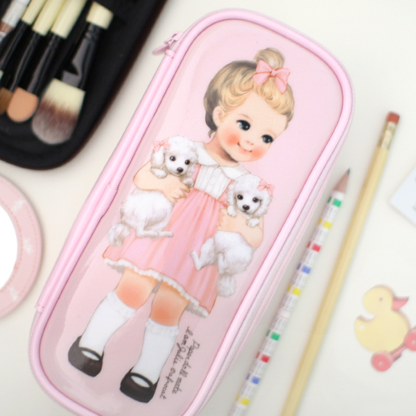 *20%쿠폰발행* paper doll matemake up pouch P_Julie