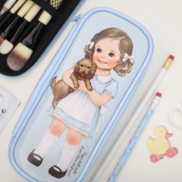 *20%쿠폰발행* paper doll matemake up pouch P_Alice