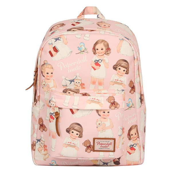 paper doll mate backpack_pink