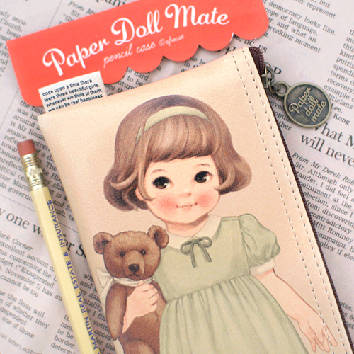 paper doll matepencil case6_Sally