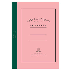 [sold out] General-groundNotebook_Classic rose