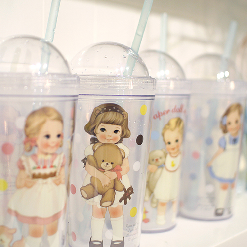 [sold out] paper doll mate ice tumbler