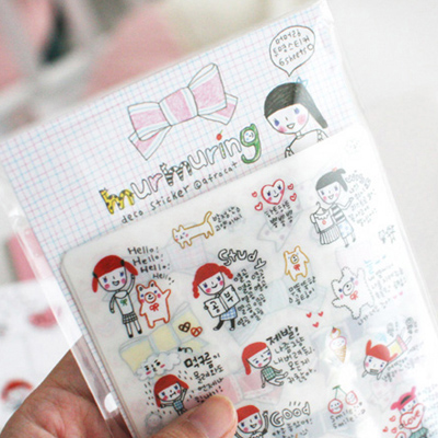[sold out] murmuring deco sticker