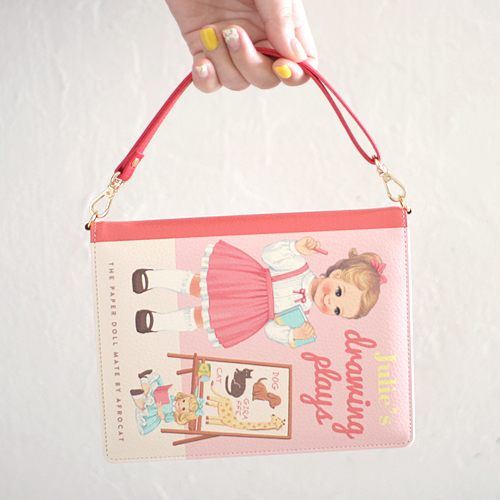 paper doll mateBook Clutch. S_Julie