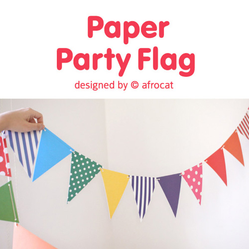 paper party flag