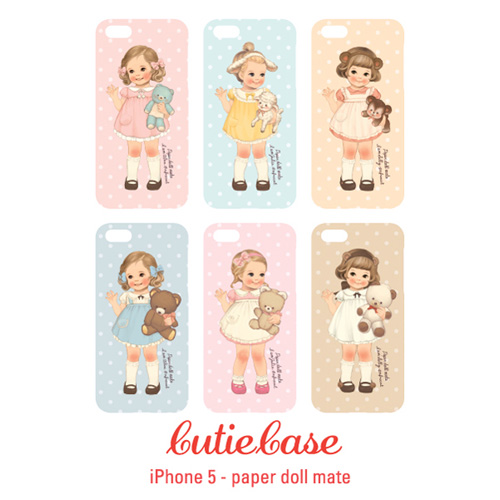 [50%] CutieCasepaper doll mate_iphone5