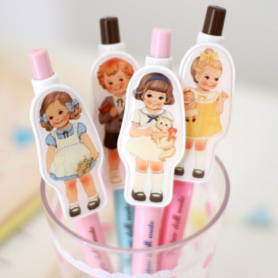 paper doll mate ball pen