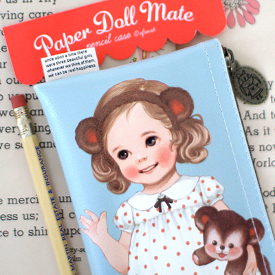 paper doll matepencil case3_Alice