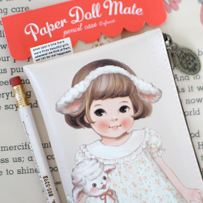 paper doll matepencil case3_Sally