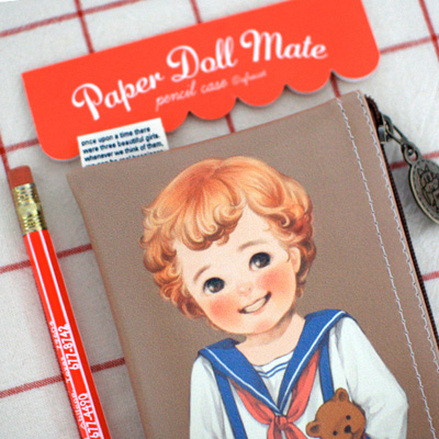 paper doll matepencil case2_Tom