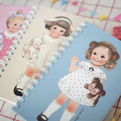 paper doll mate spring note