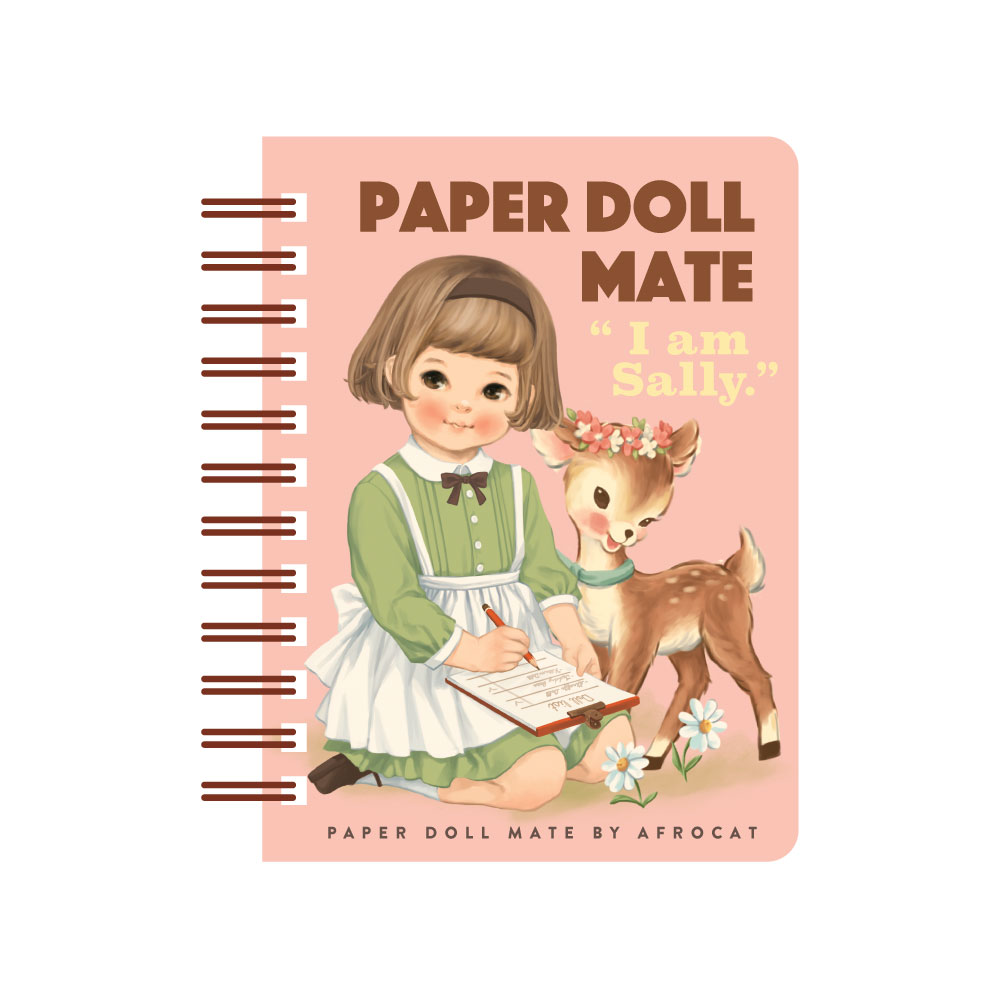 paper doll mate spring memo_10.Sally