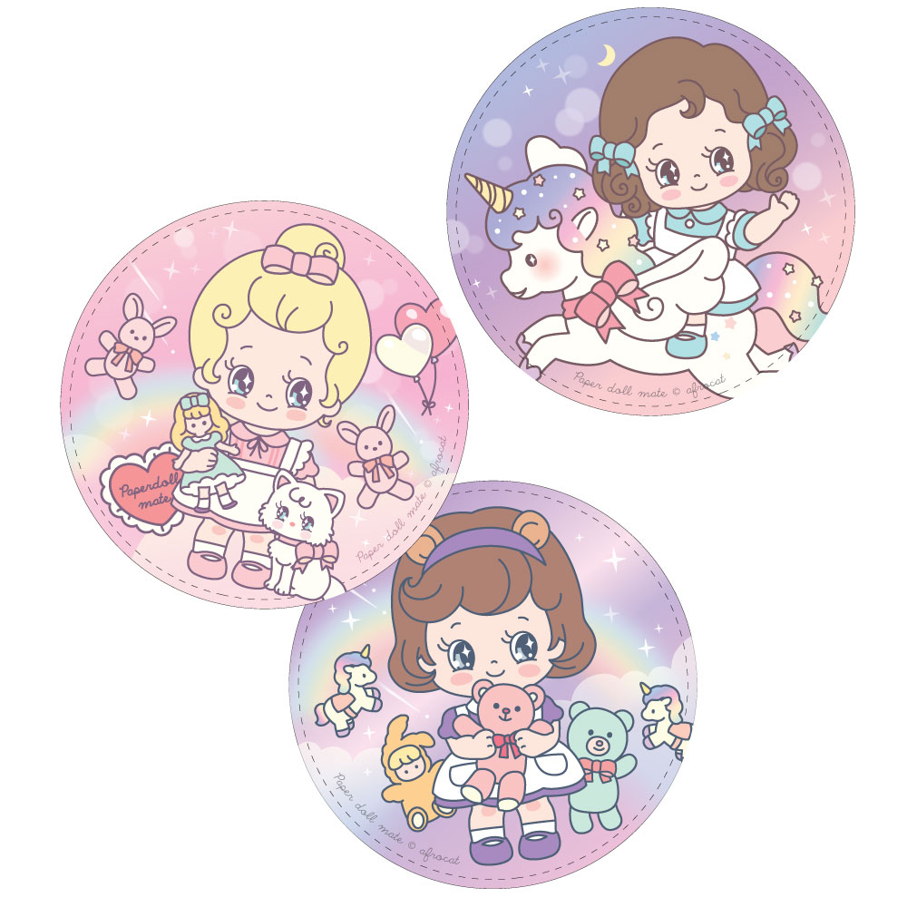 paper doll mate pocket mirror_Minime