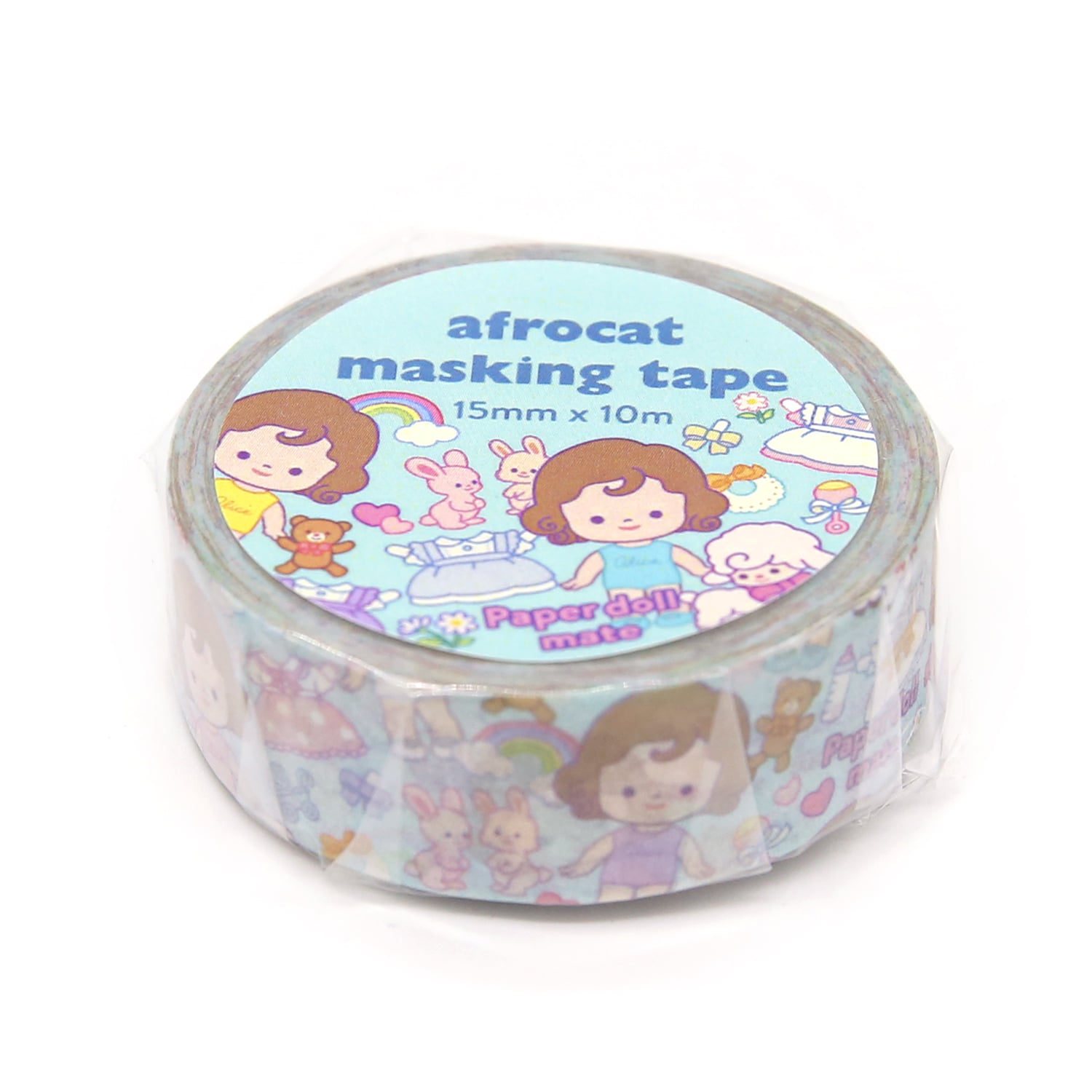 [afrocat masking tape] 16. Paper doll mate_minime alice 15mm