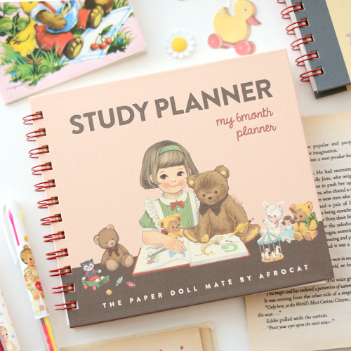 paper doll matestudy planner