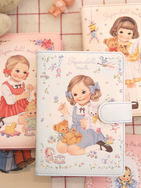 ▶ Paper doll mate Daily diary 2018 - Open!